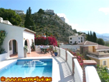 Vacation Rental Villa on Monte de los Almendros in Salobrena on the Costa Tropical Villa Princesa Private Pool