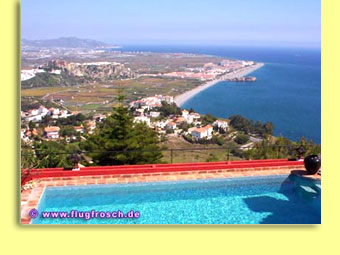 Salobrena - Beautiful views to the Beaches