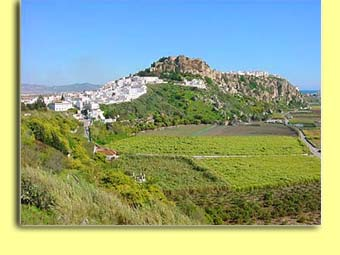 Salobrena's Rock with Moorish Castle
